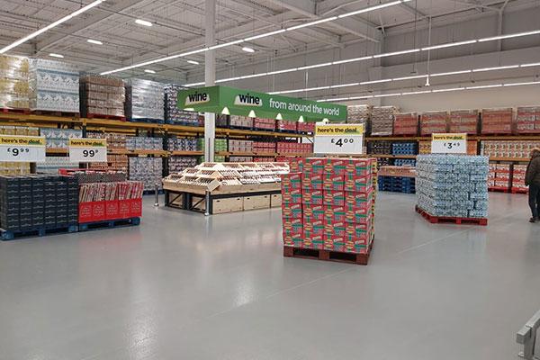 Deal Depot Layout